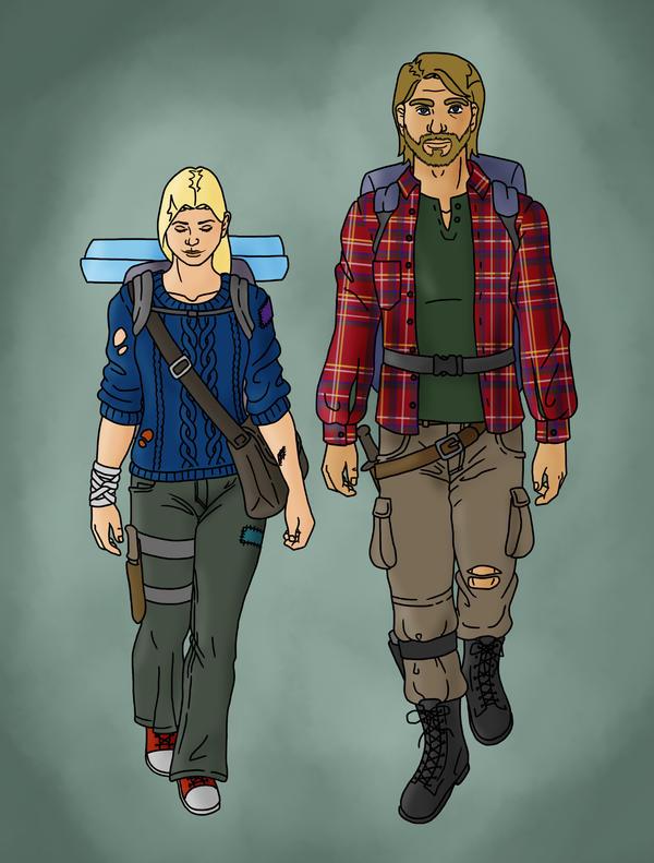 Sara and Hollis by uncannyphantom