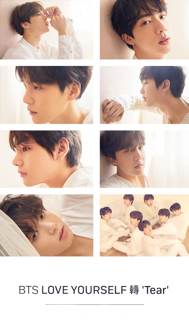 Bts Love Yourself Tear Ios Wallpaper By Xhanachan On Deviantart