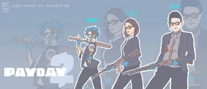PAYDAY 2 : the girls