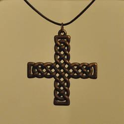 Celtic Cross Pendant by dfoley75
