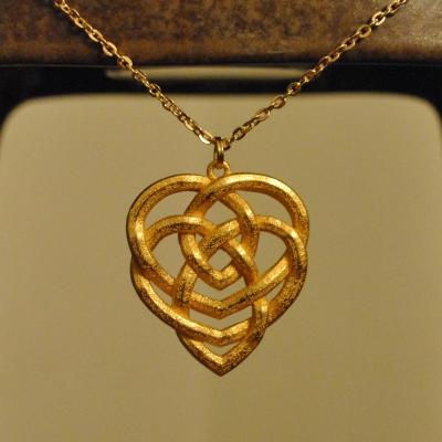 Celtic Knot Motherhood Necklace by dfoley75