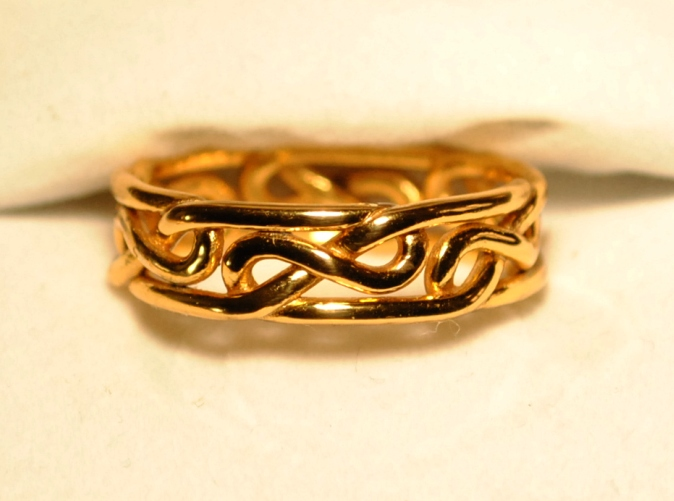 Figure 8 Ring Gold by dfoley75