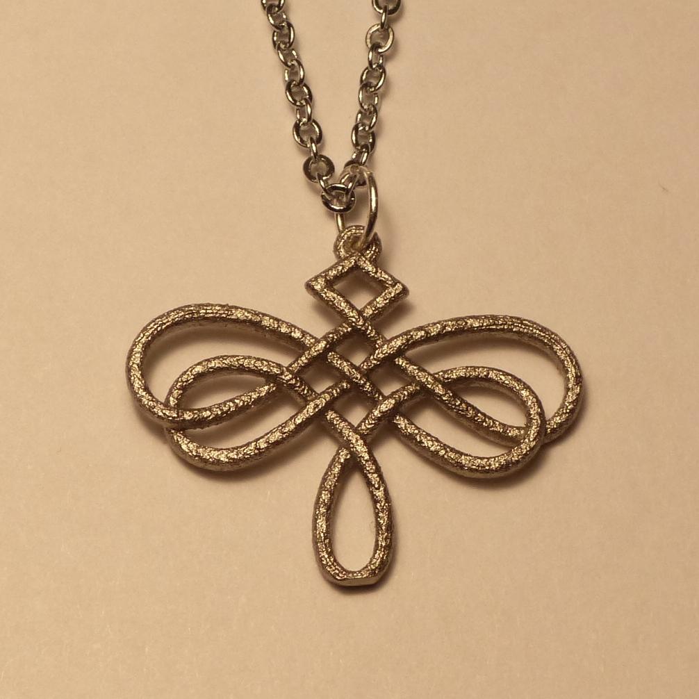 dragonfly celtic knot pendant by dfoley75 on deviantart
