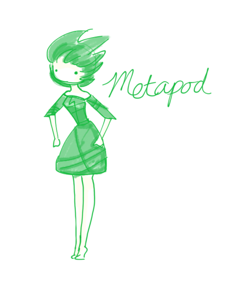 Pokemon Gijinka- Metapod by minty-red on DeviantArt
