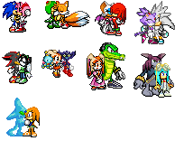 sonic couples sprites by Sonicgirl7777
