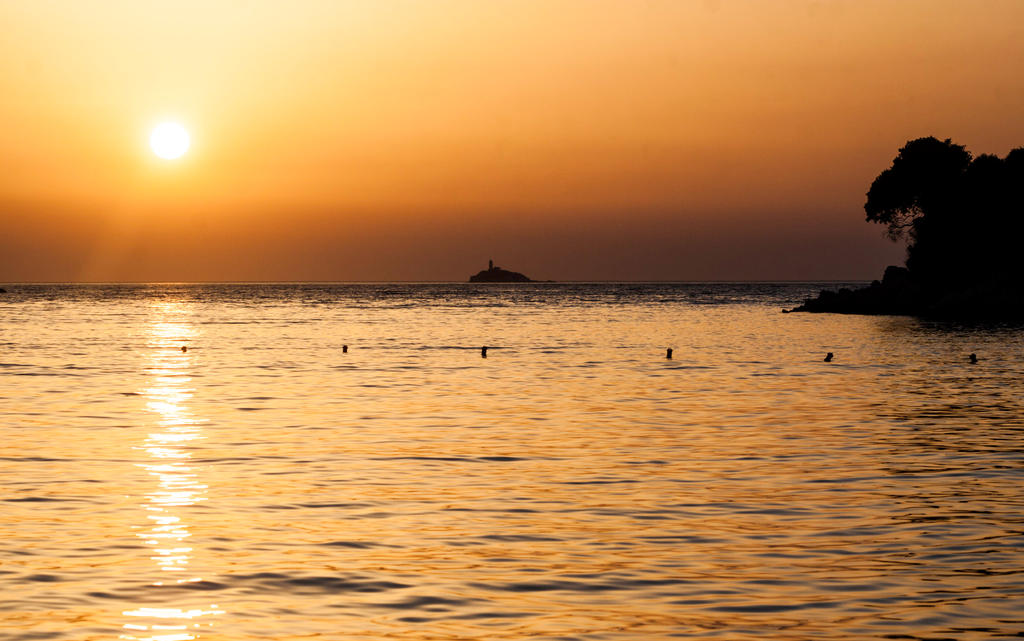Sunset in Ksamil, Albania by Albanos