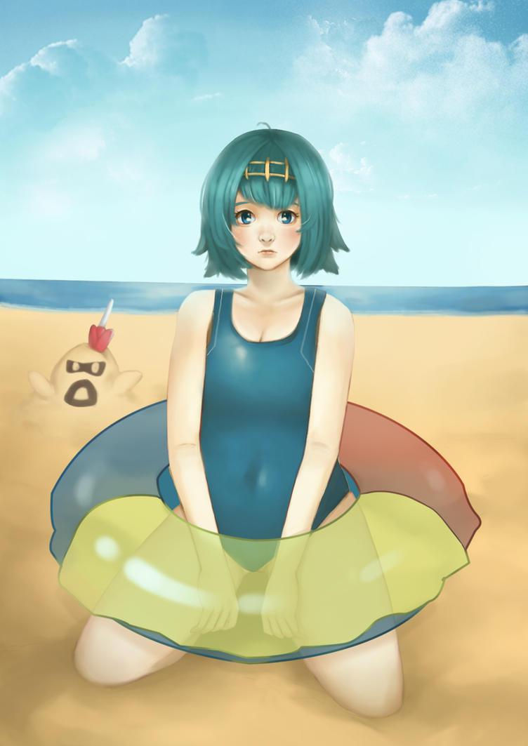 Lana Pokemon SUN and MOON by TryEka