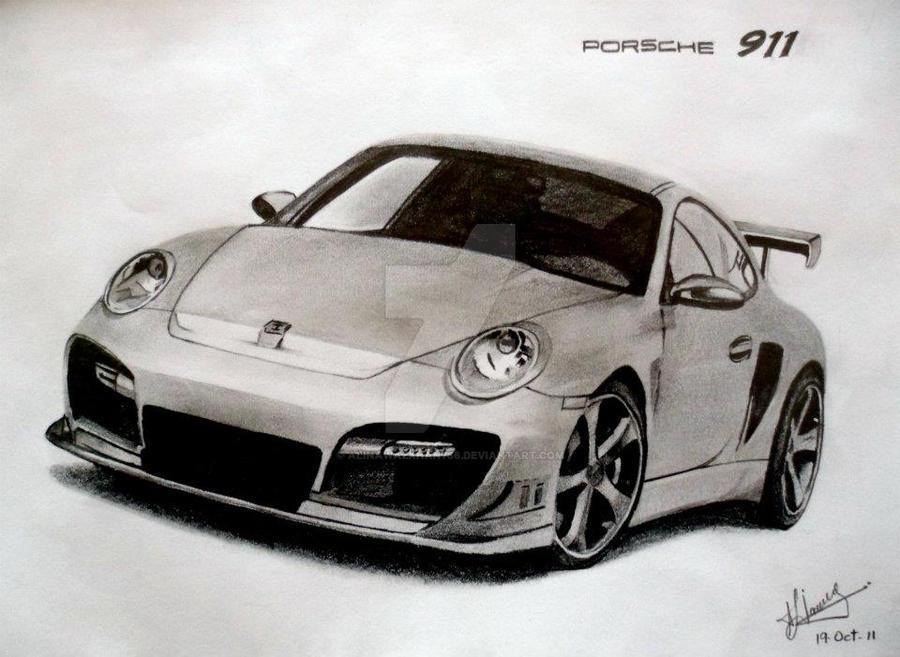 Porsche 911 by alinawazkhan786