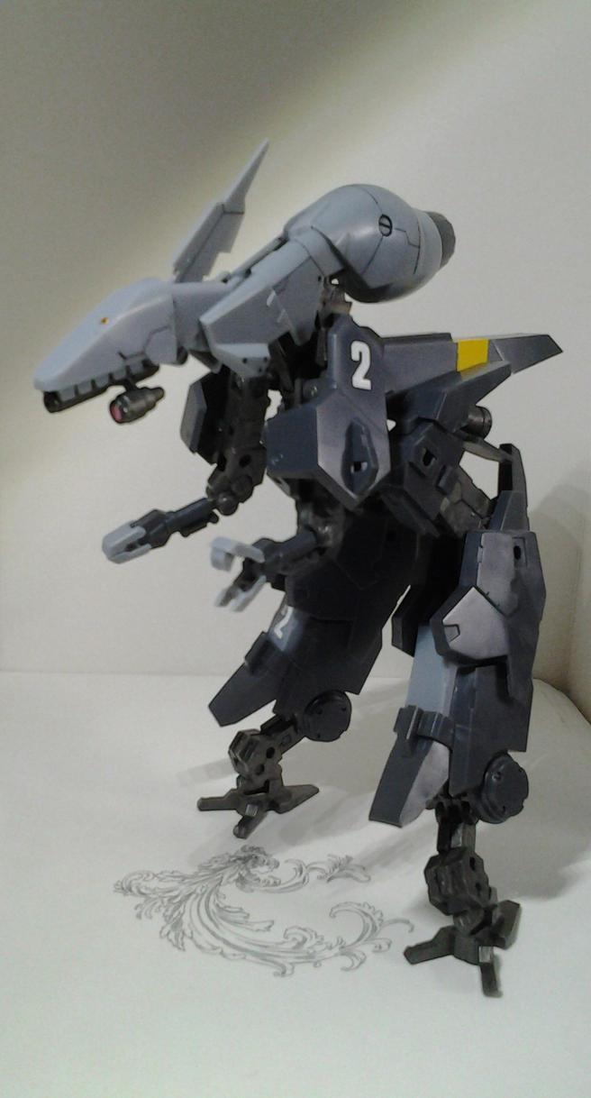 1/100 Frame Arms NSG-25r STRAUSS mdl.2 by PhantasmaStriker