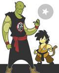 Piccolo and Goku
