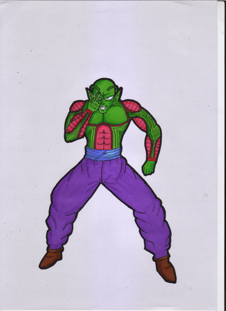 Piccolo from Dragon Ball by ForestB