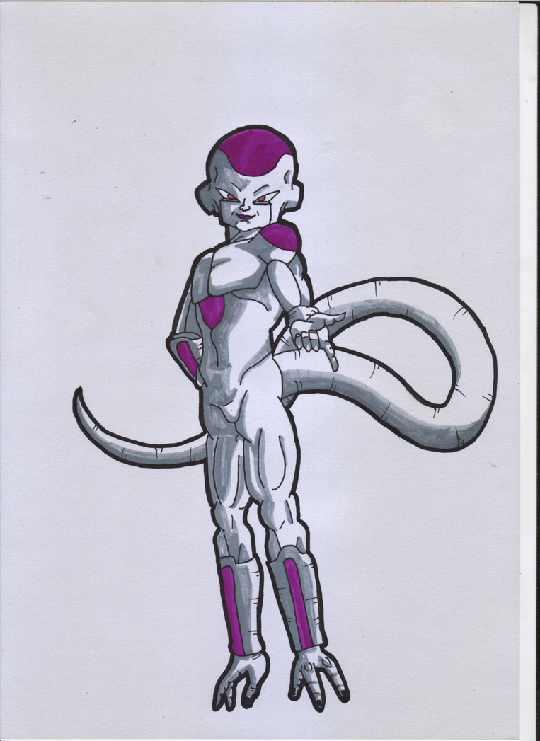 Frieza from Dragon Ball by ForestB