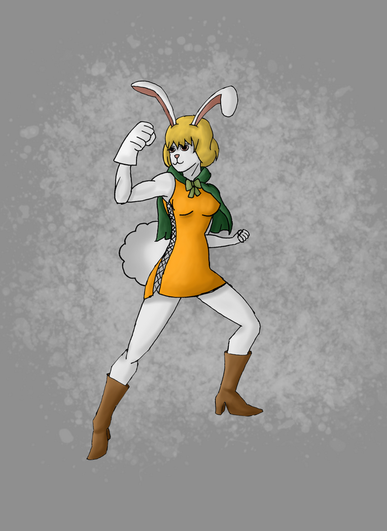 Carrot from One Piece (Digital) by ForestB