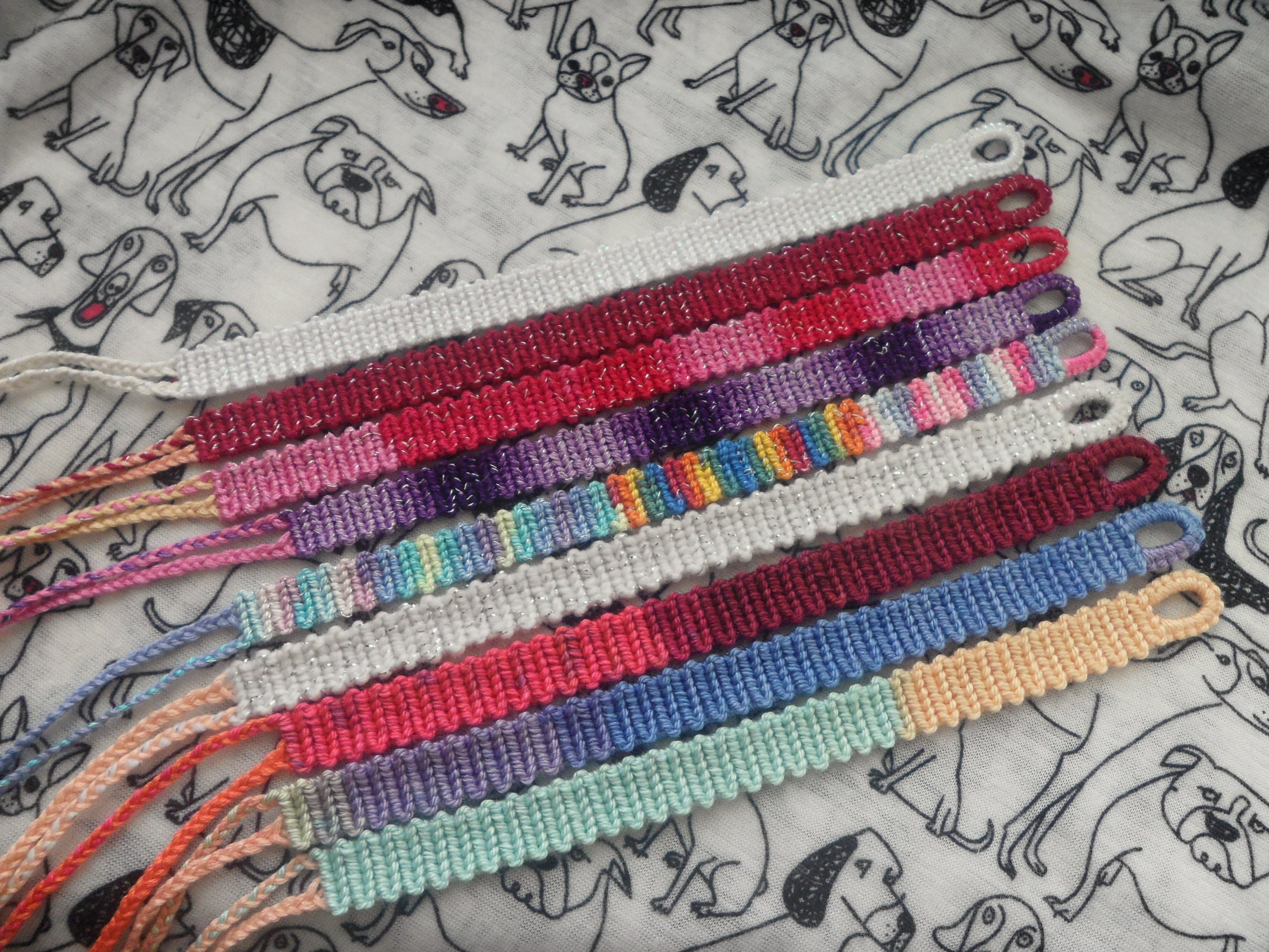 kaliste bracelets fullxfull to made zig bracelet order products massive intertwined macrame zag embroidery friendship il