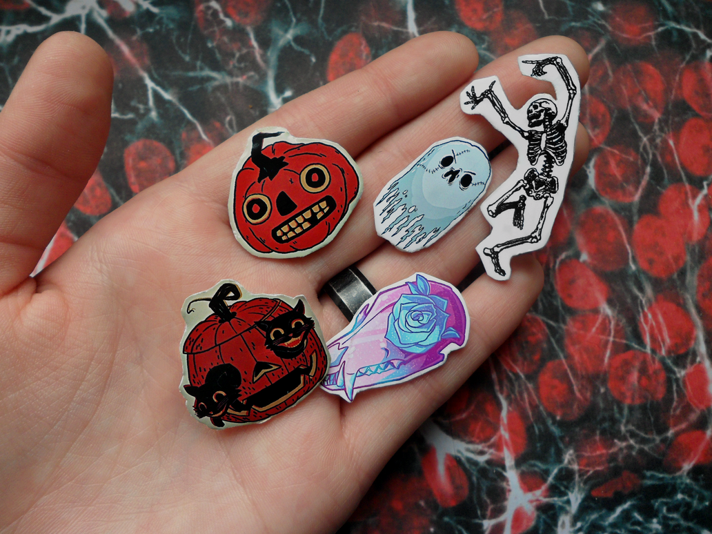 halloween pins by Simpelway
