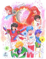 The Ronin Warriors by Jujirae