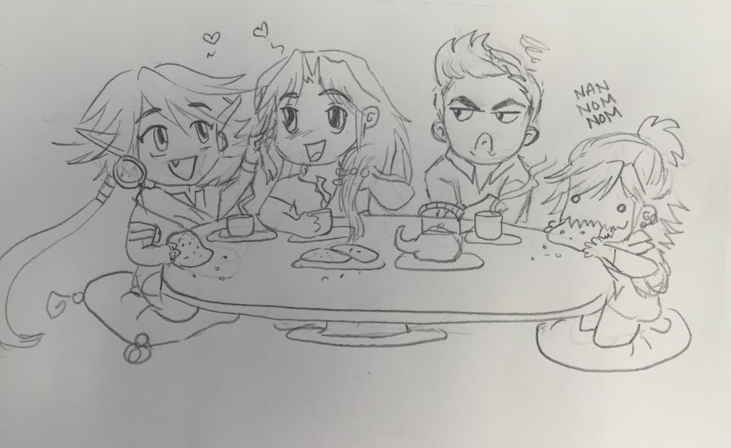 Tea by Jujirae