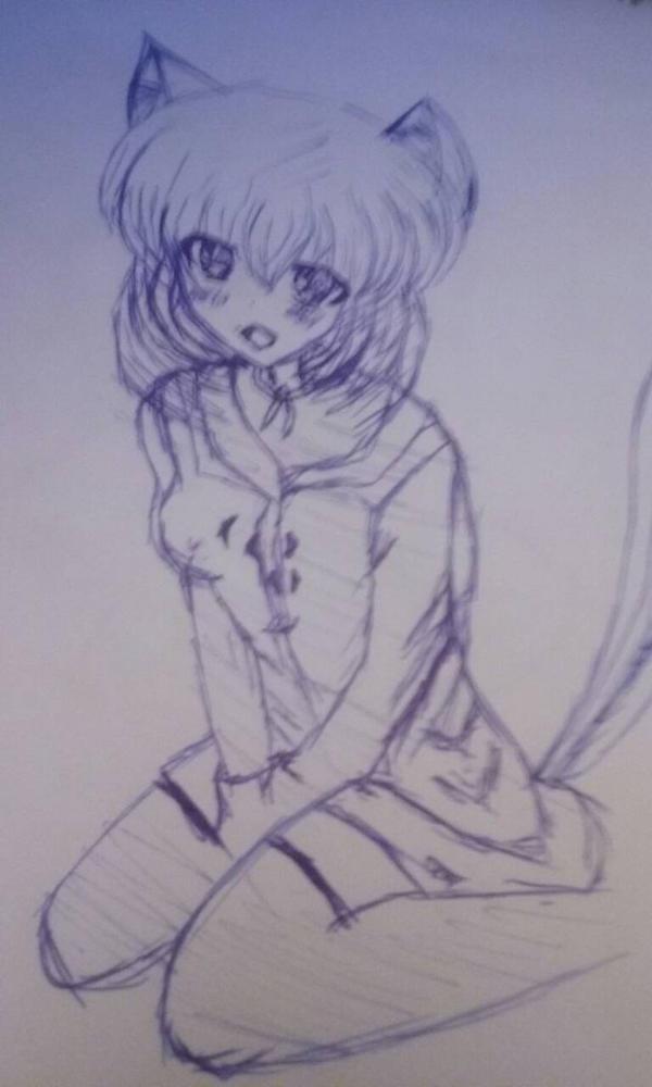 Neko-chan by Fofanaa121