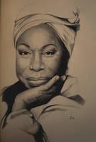 Nina Simone by LukaCakic