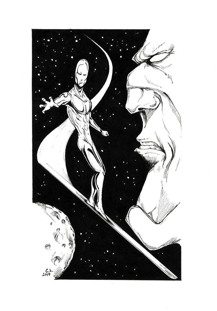 Silver Surfer by LukaCakic