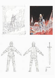 Swordsman, shieldmaiden