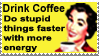 Drink Coffee Stamp by urnightmare