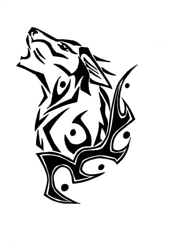 ecca2dcdb Howling Wolf Tattoo by *BornToSoar on deviantART