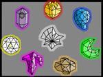 The eight elemental stones