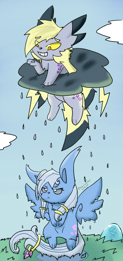 :Contest: Rainy Day by Pizaru-Chu on deviantART Rainy Day Drawing Competition
