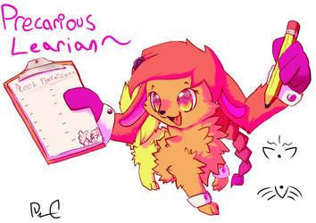 Char:: Precarious Learian by RaoKurai