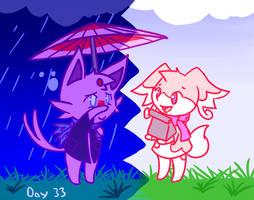 Daily Speedpaint Day 33 by Pizaru-Chu