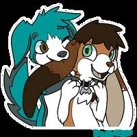 Commish:: Suprise Hug