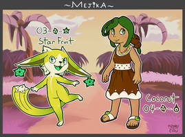 Mejika:: #3-4 ~ Tropical Fruit (OPEN) by RaoKurai