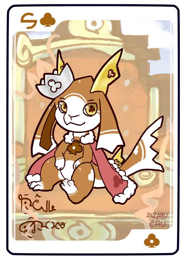 5 of Clubs ~ Regal Crown [Closed]