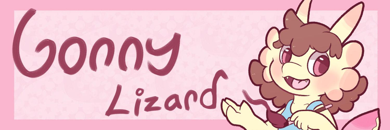 Comm: Gonny Lizard Banner