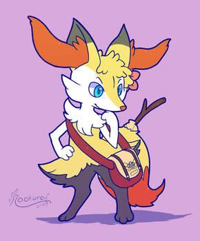 Comm: Flower Fox