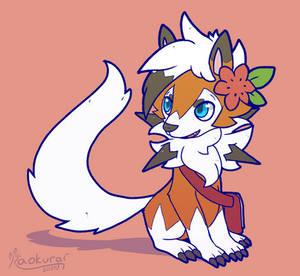 Comm: Flower Dog