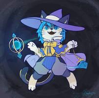 Comm: Witch Cat