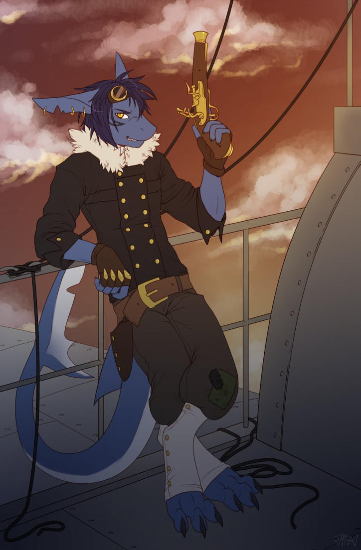 Sky piracy as a legitimate career path by piranhapettingzoo