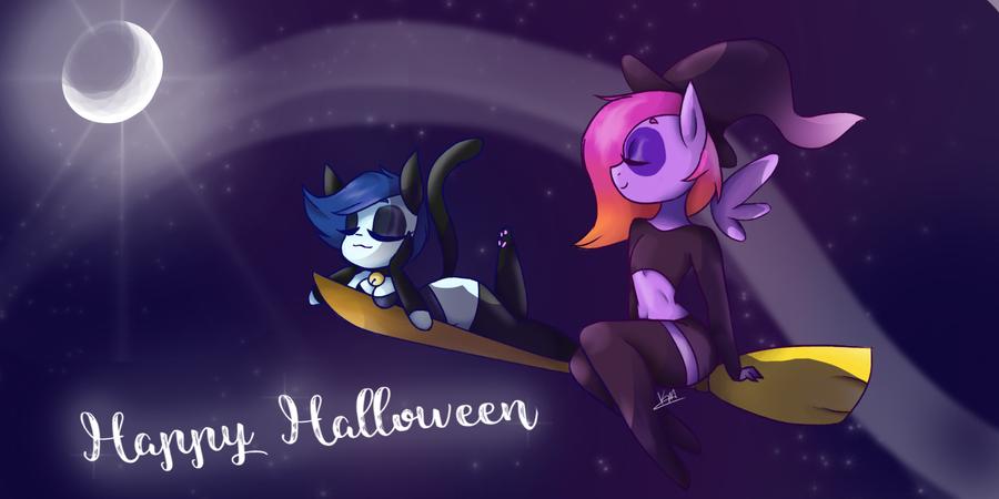 Happy Halloween by kwhittski