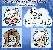 Emote commission list {PayPayl Only}