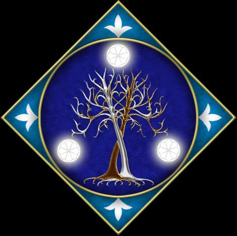 Noldor Banner by enanoakd