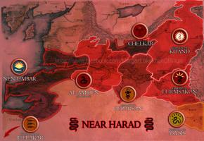 Near Harad realms by enanoakd