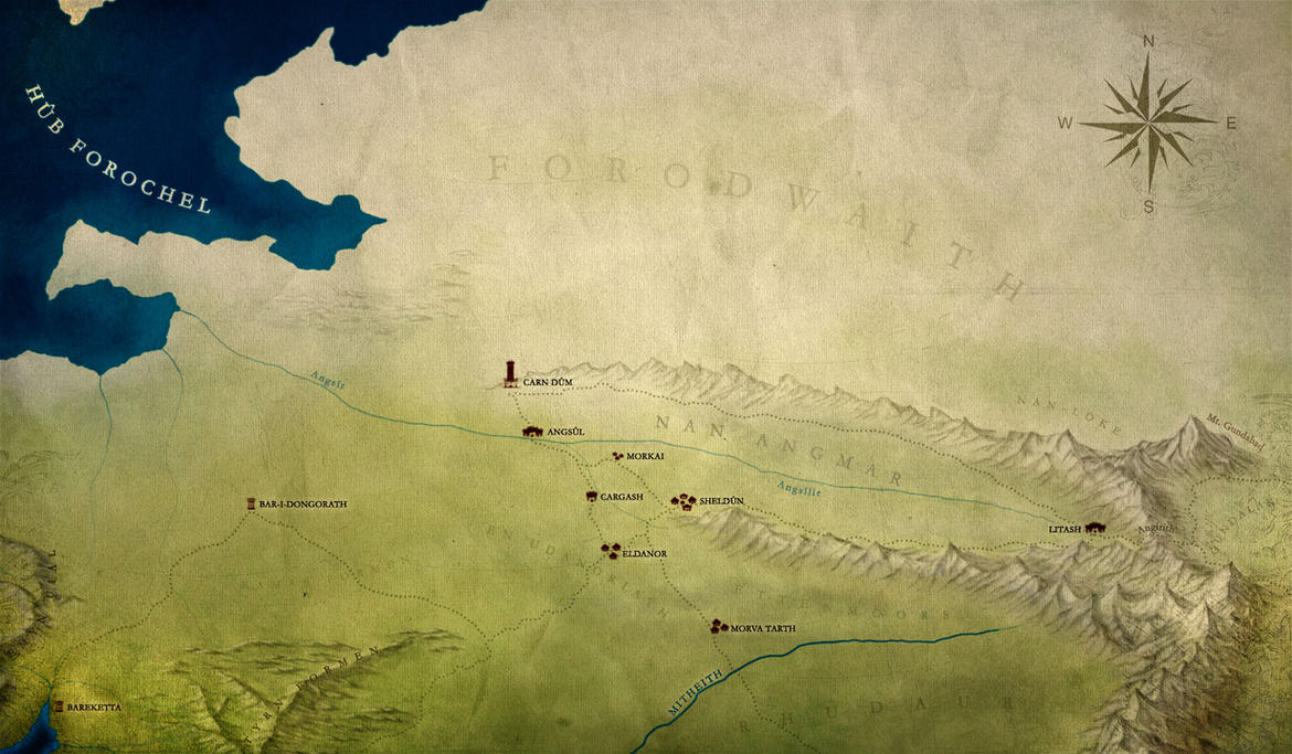 [WIP] Angmar Valley and North Eriador by enanoakd