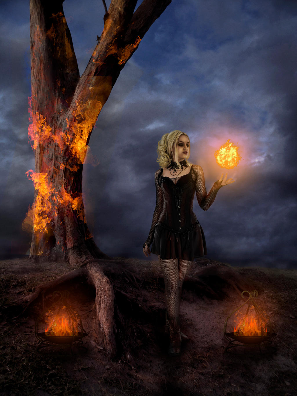 Woman With Fire part 2