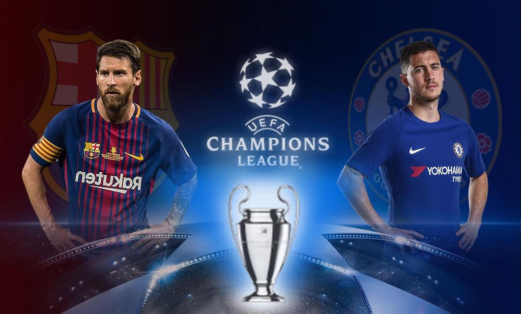 barcelona vs chelsea by mina0127