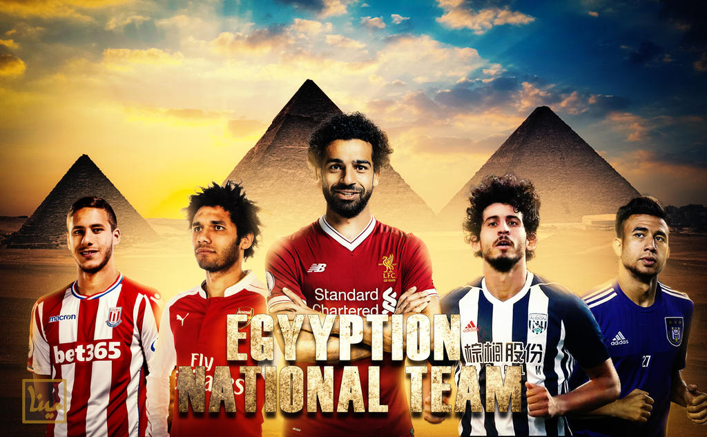 EGYPTIAN NATIONAL TEAM by mina0127