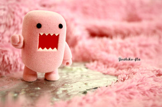 A pink domo in a pink world