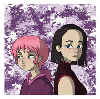 Code Lyoko - Aelita and Yumi