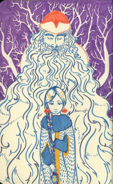 Ded Moroz and Snegurochka by Yumemi-chan